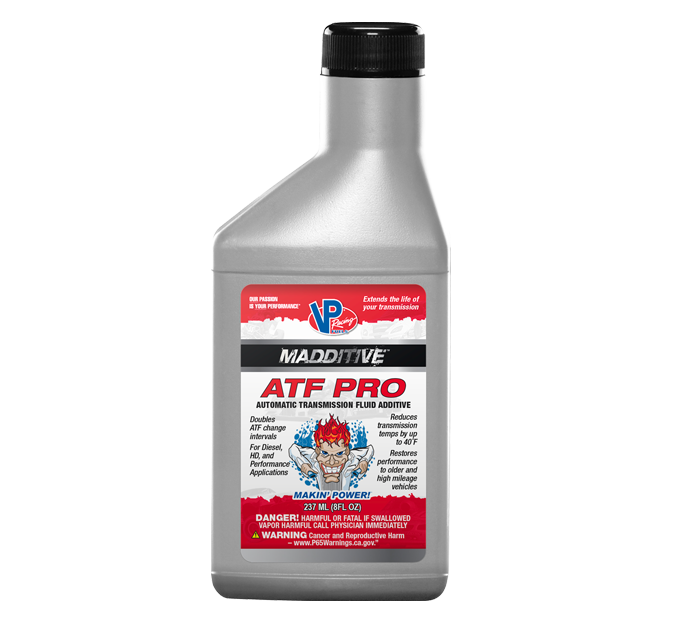 VP RACING FUELS TAKES AUTOMATIC TRANSMISSION FLUID TO NEW